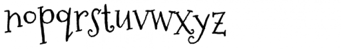 Sugarplum Font LOWERCASE