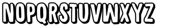 Sugarpunch Shadow Font LOWERCASE