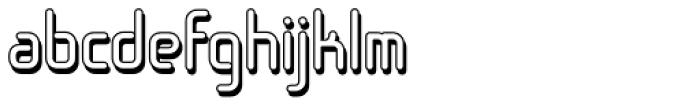 Sugarskin BTN Shadow Font LOWERCASE