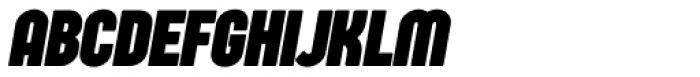 Sugo Pro Display Bold Italic Font UPPERCASE