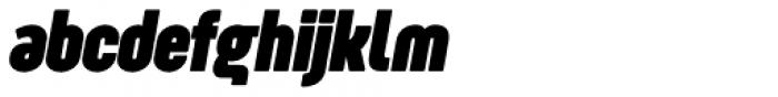 Sugo Pro Display Bold Italic Font LOWERCASE