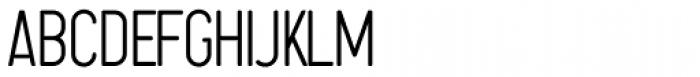 Sugo UltraLight Font UPPERCASE