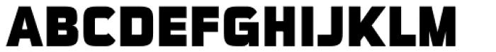 Sui Generis Cond Heavy Font UPPERCASE