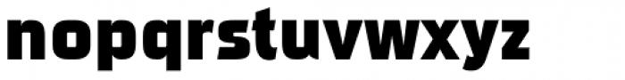 Sui Generis Cond Heavy Font LOWERCASE