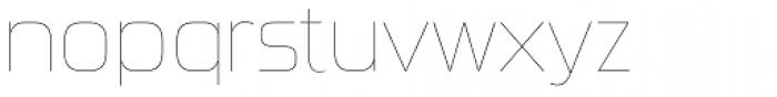 Sui Generis Cond UltraLight Regular Font LOWERCASE