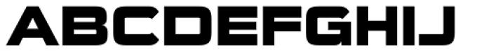 Sui Generis Heavy Font UPPERCASE