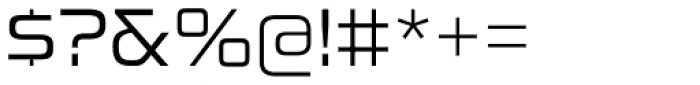Sui Generis Light Font OTHER CHARS