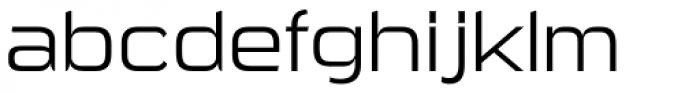 Sui Generis Light Font LOWERCASE