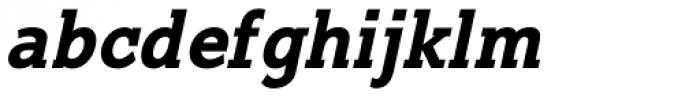 Suite Slab Bold Italic Font LOWERCASE