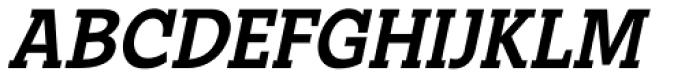 Suite Slab Italic Font UPPERCASE