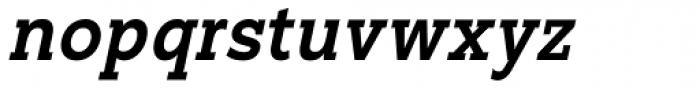 Suite Slab Italic Font LOWERCASE
