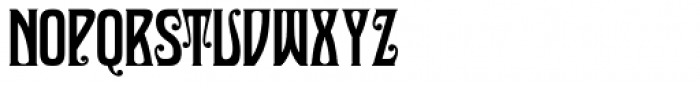 Sultan Cafe Font UPPERCASE