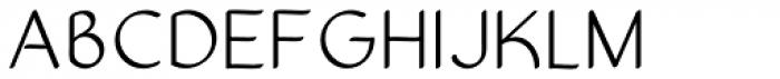 Sultania Light Font UPPERCASE