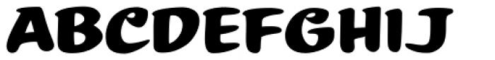 Summer Fling Regular Font UPPERCASE