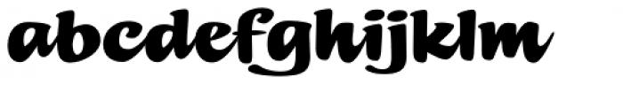 Summer Fling Regular Font LOWERCASE