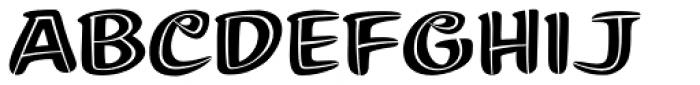 Summer Fling Split Regular Font UPPERCASE