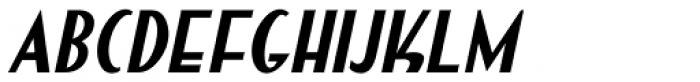 Summer Program Oblique JNL Font LOWERCASE