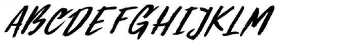 Summer Romance Italic Font UPPERCASE