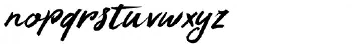 Summer Romance Italic Font LOWERCASE