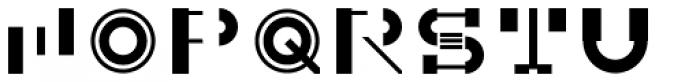 Sumply Three Font UPPERCASE