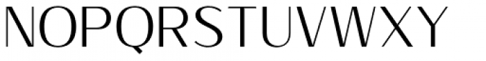 Sumptuous Thin Font UPPERCASE