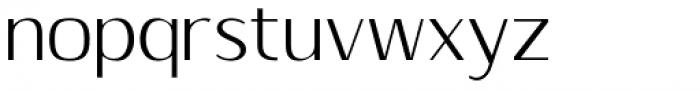 Sumptuous Thin Font LOWERCASE