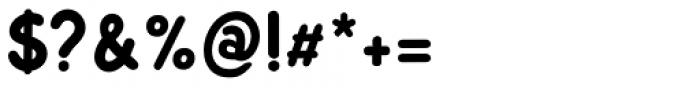 Sunbird Black Regular Font OTHER CHARS