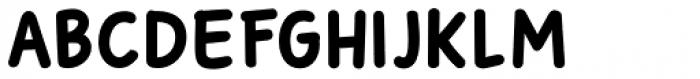 Sunbird Black Regular Font UPPERCASE