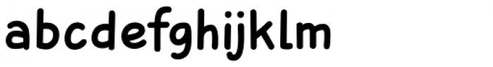 Sunbird Medium Font LOWERCASE