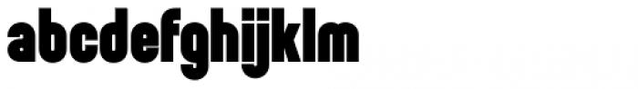 Sunblock Pro Black Font LOWERCASE