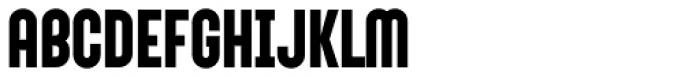 Sunblock Pro Bold Font UPPERCASE