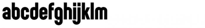 Sunblock Pro Bold Font LOWERCASE