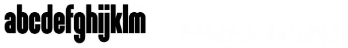 Sunblock Pro Cond Black Font LOWERCASE