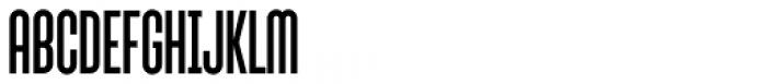 Sunblock Pro Cond Font UPPERCASE