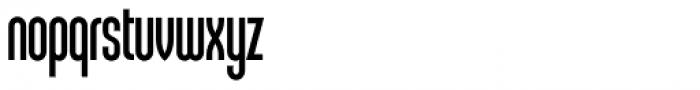 Sunblock Pro Cond Font LOWERCASE