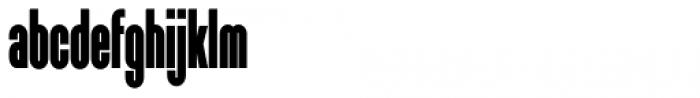 Sunblock Pro Extra Cond Black Font LOWERCASE