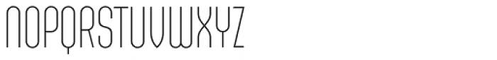 Sunblock Pro Thin Font UPPERCASE