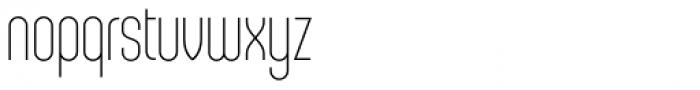 Sunblock Pro Thin Font LOWERCASE
