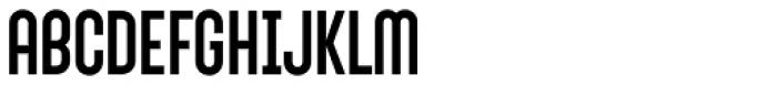 Sunblock Pro Font UPPERCASE