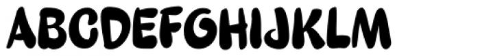 Sundae Font UPPERCASE