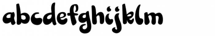 Sundae Font LOWERCASE