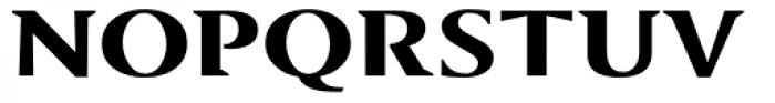 Sundance Bold Font UPPERCASE