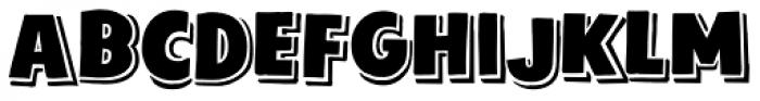 Sunday Best Regular Font UPPERCASE