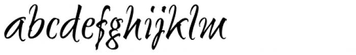 Sunetta Magic Font LOWERCASE