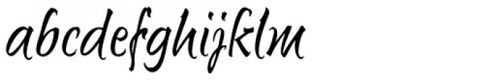 Sunetta Std Charme Font LOWERCASE