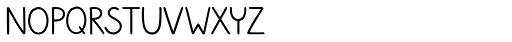 Sungarden Mix Small Regular Font UPPERCASE
