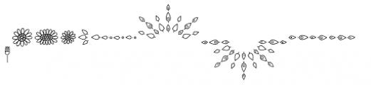 Sungarden Pics Camomile Font LOWERCASE