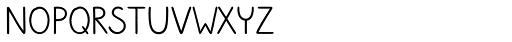Sungarden Wide Regular Font UPPERCASE
