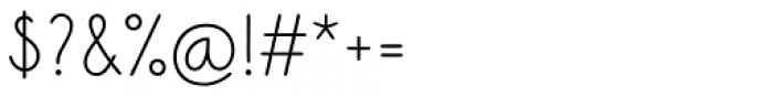 Sungarden Wide SC Regular Font OTHER CHARS