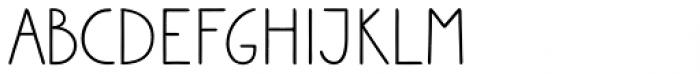 Sungarden Wide SC Regular Font UPPERCASE